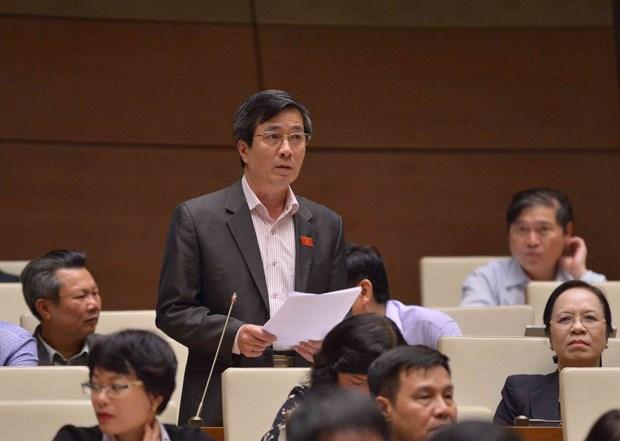 第十四届国会第六次会议:表决通过两项决议和讨论四项法律草案 hinh anh 1