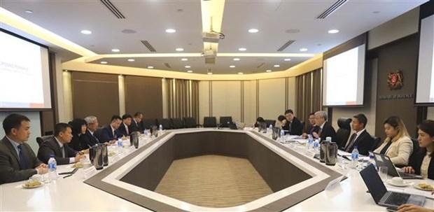 阮志咏上将出席越新国防部副部长级政策对话 hinh anh 1