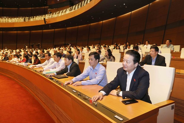 越南第十四届国会第六次会议通过关于批准CPTPP协定的决议 hinh anh 1