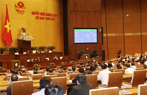 越南第十四届国会第六次会议公报(第十七号) hinh anh 1
