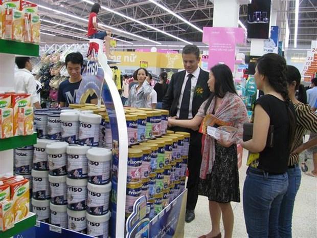 2018年新加坡越南商品周:越南600多种商品在新加坡超市系统上架 hinh anh 1