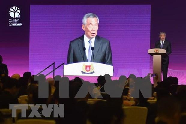 东盟峰会:加强互联互通 为企业对接营造便利环境 hinh anh 1