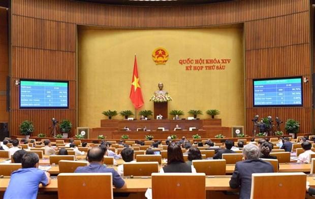 越南第十四届国会第六次会议:重点讨论司法工作 hinh anh 1