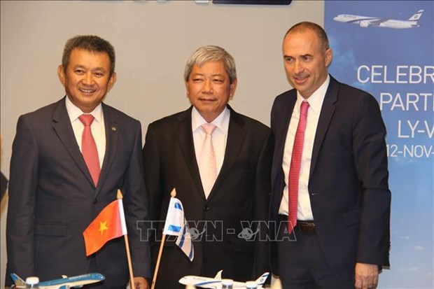 越南航空公司与以色列航空签署联营合作协议 hinh anh 2