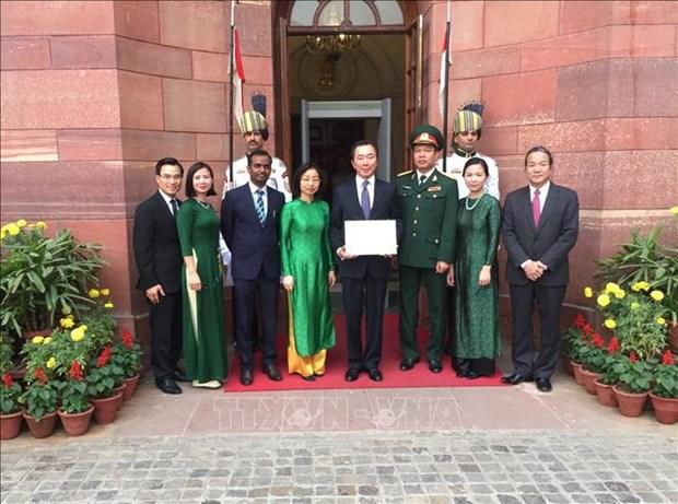 """印度总统:越南始终是印度""""东向行动政策""""中的重要支柱 hinh anh 2"""
