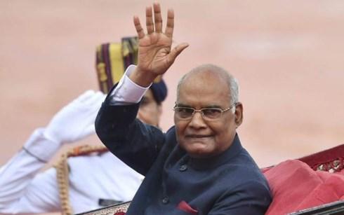 印度总统和夫人即将对越南国事访问 hinh anh 1