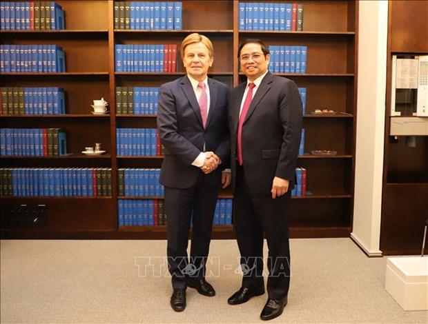 促进越南与芬兰的合作关系 hinh anh 1
