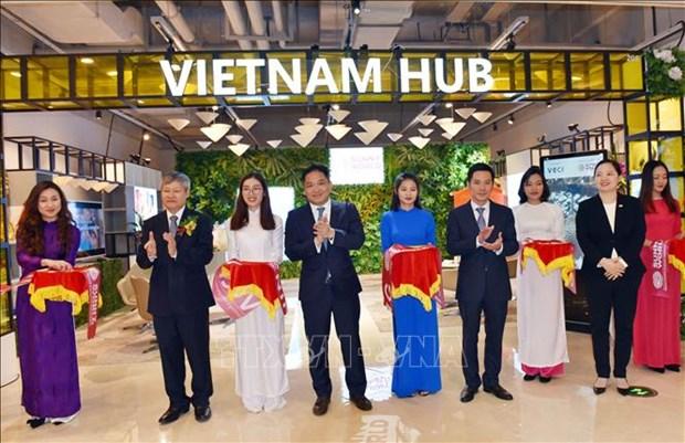 越南馆在上海绿地全球商贸港正式亮相 hinh anh 1