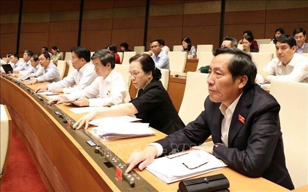 第十四届国会第六次会议:国会表决通过2019年中央财政预算分配方案的决议 hinh anh 1
