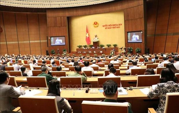 第十四届国会第六次会议:讨论2018年公民投诉举报处理工作报告 hinh anh 1