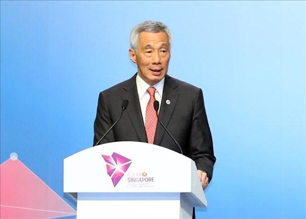 越南政府总理阮春福出席第33届东盟峰会全体会议 hinh anh 2