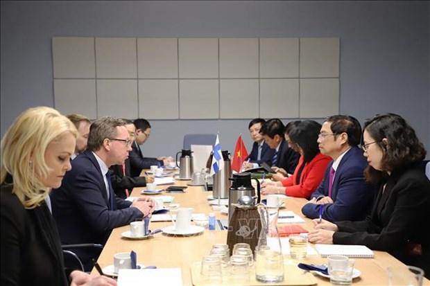 促进越南与芬兰的合作关系 hinh anh 2