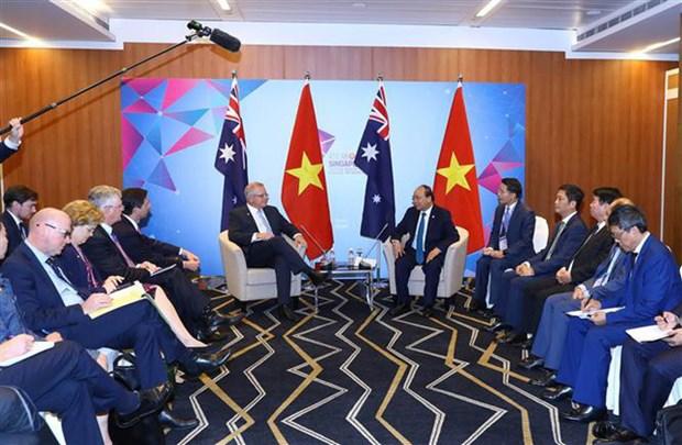 东盟峰会:政府总理阮春福出席澳大利亚与东盟领导人非正式早餐会 hinh anh 1