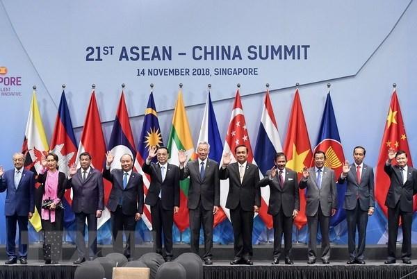 东盟与中国通过《东盟-中国战略伙伴关系2030愿景》 hinh anh 1