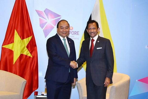 东盟峰会:政府总理阮春福会见文莱和马来西亚领导人 hinh anh 1