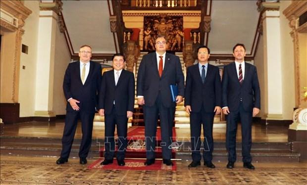 胡志明市与匈牙利加强经济合作 hinh anh 2