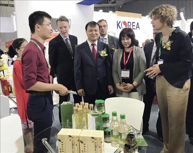 23个国家和地区参加2018年越南国际食品工业展 hinh anh 1