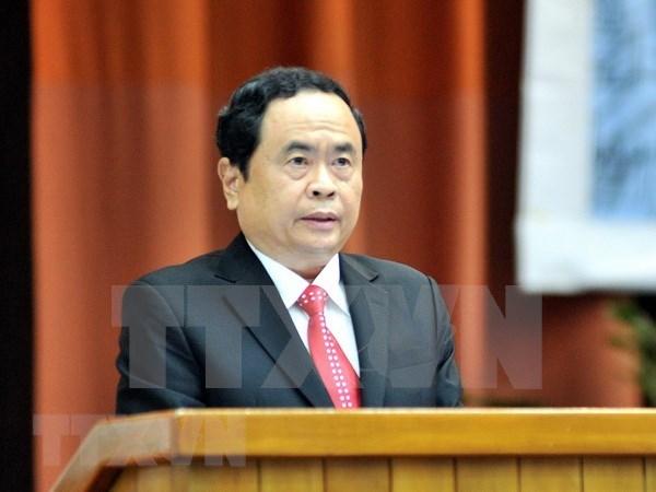 陈青敏致信祝贺越南高台教创立93周年 hinh anh 1