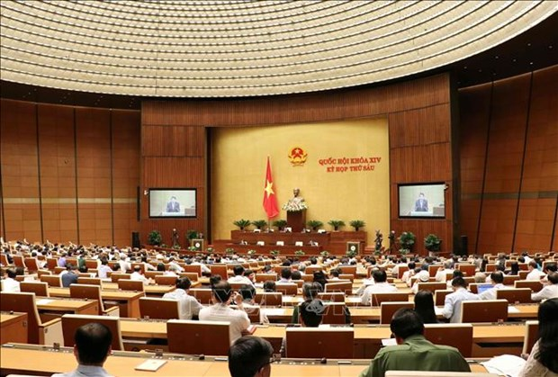 第十四届国会第六次会议表决《国家机密保密法》并对两项法律草案提出意见 hinh anh 1