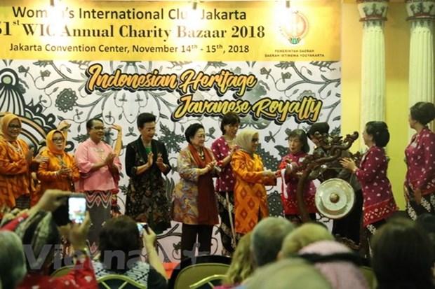 越南参加印尼第51届国际慈善展会 hinh anh 2