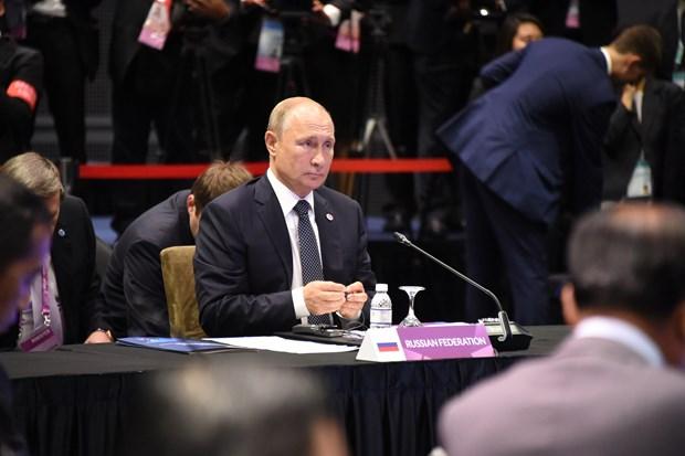 东盟峰会:俄邀请东盟商界人士参加圣彼得堡经济论坛 hinh anh 1