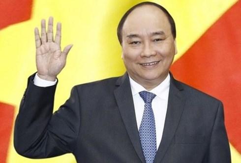 政府总理阮春福启程出席APEC第二十六次领导人非正式会议 hinh anh 1