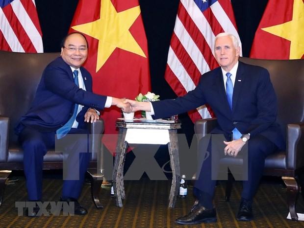 越南政府总理阮春福圆满结束第33届东盟峰会及系列会议之行 hinh anh 2