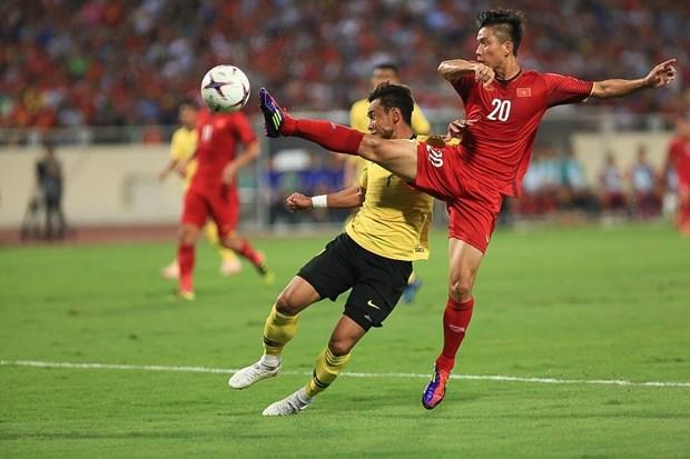 2018年铃木杯东南亚足球锦标赛:越南队2比0击败马来西亚队 hinh anh 1