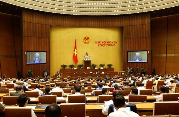 越南国会第六次会议:就两部法案进行讨论 hinh anh 1
