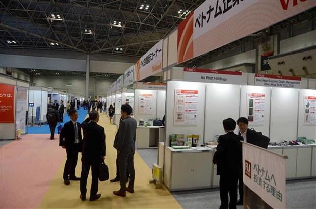 越南配套企业参加第14届中小企业国际展会 hinh anh 1