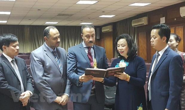 河内市党政代表团对埃及进行工作访问 hinh anh 1