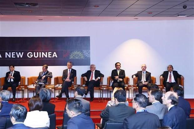 2018年APEC峰会:阮春福总理开始APEC峰会相关活动 hinh anh 1