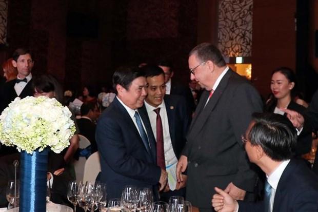 越南欧洲商会成立20周年纪念典礼在胡志明市举行 hinh anh 1