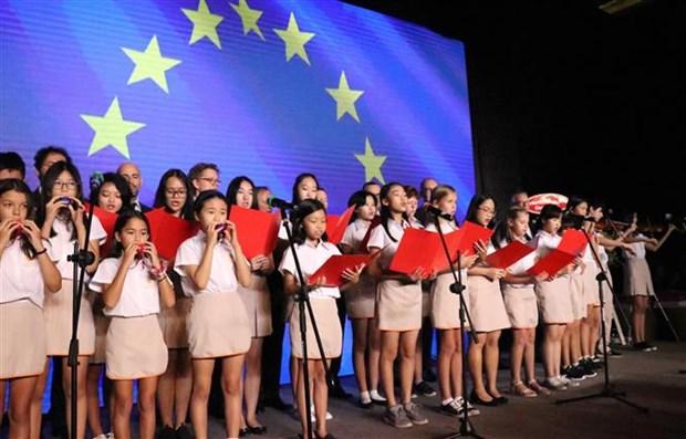越南欧洲商会成立20周年纪念典礼在胡志明市举行 hinh anh 2