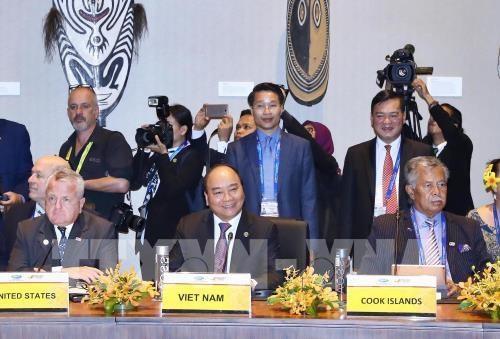 阮春福圆满结束出席第26届亚太经合组织领导人会议活动 hinh anh 1