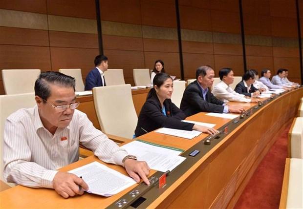 越南第十四届国会第六次会议通过《特赦法修正案》 hinh anh 1