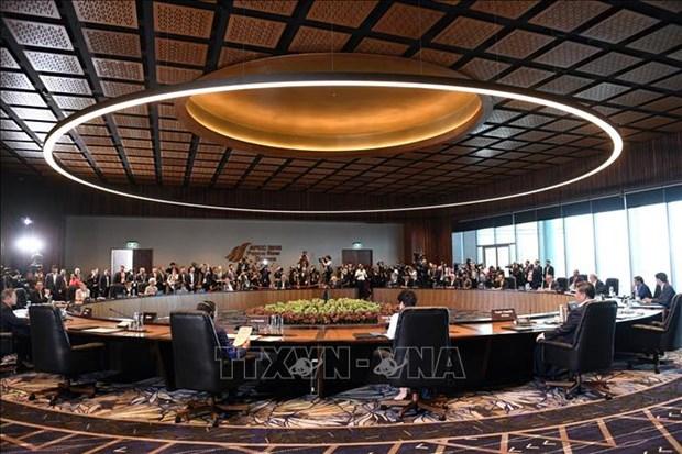 2018年APEC领导人会议结束 hinh anh 2