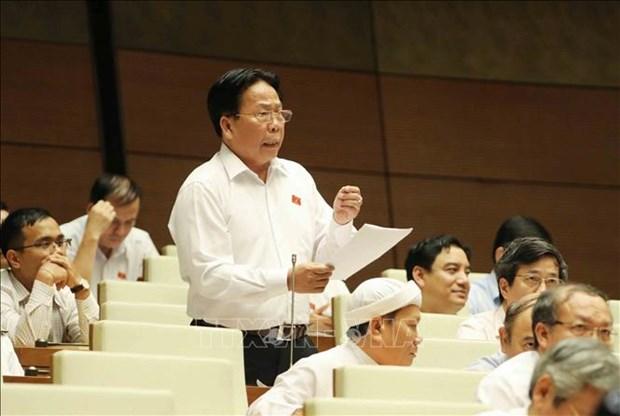 越南国会第六次会议:讨论《刑事案件执行法(修正案)》 hinh anh 1