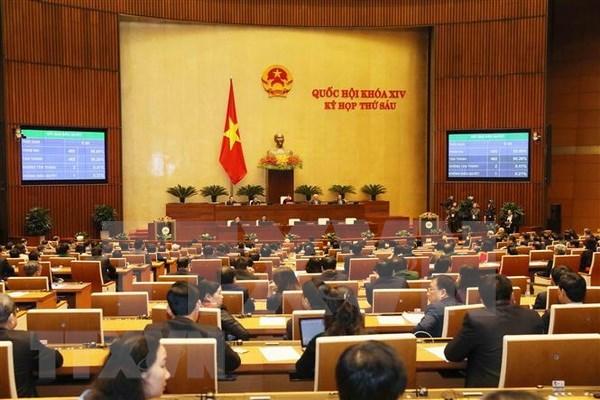 越南第十四届国会第六次会议闭幕 hinh anh 1