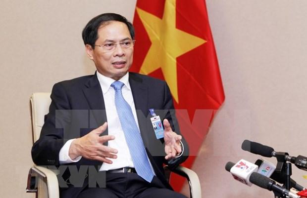 裴青山:越南为促进贸易和投资开放自由化提出许多建议 hinh anh 1