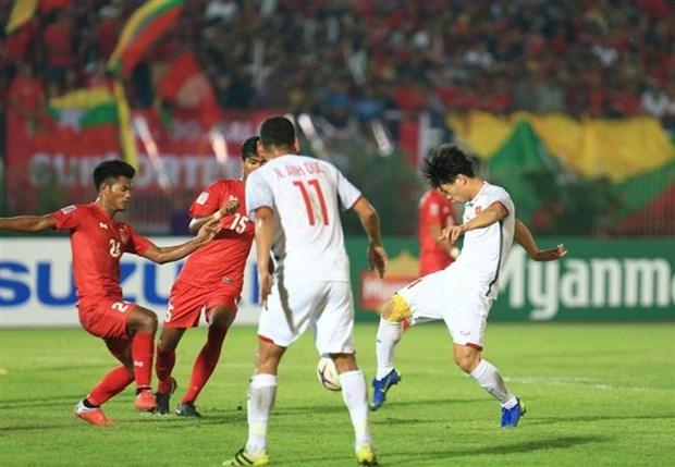 AFF Suzuki Cup 2018:越南队与缅甸队0比0收场 hinh anh 1