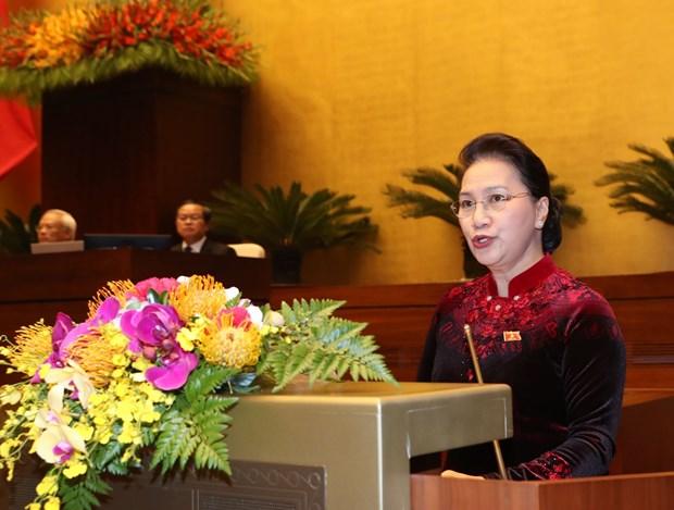 印度总统拉姆·纳特·考文德在越南国会发表重要演讲 hinh anh 3