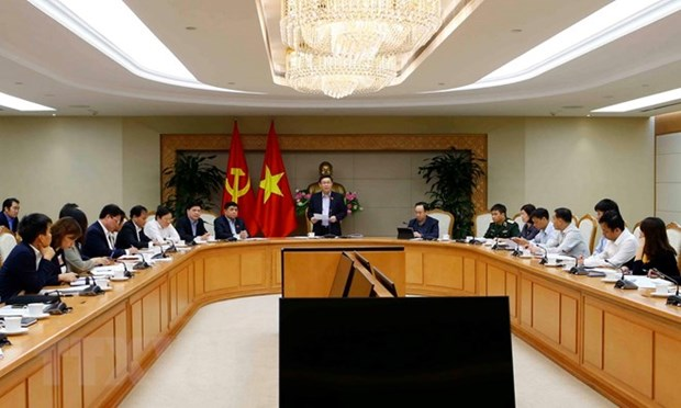 政府副总理王廷惠:2019年人口和住房普查需确保高效便捷和质量 hinh anh 2