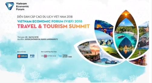 2018年越南旅游发展高层论坛将于12月初首次举办 hinh anh 1