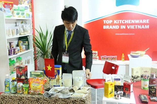 越南企业参加2018年印尼国际食品展 hinh anh 1
