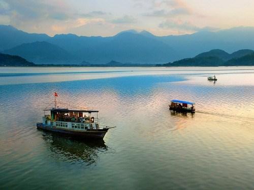 太原省谷山湖国家旅游区建设总体规划获批 hinh anh 1