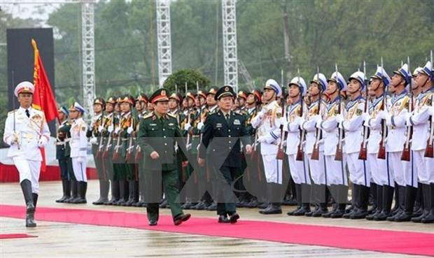 阮志咏上将:防务合作为保障越中边界稳定与发展作出贡献 hinh anh 1