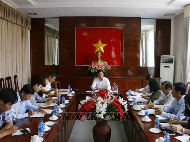 荷兰协助越南提高九龙江三角洲地区的供水能力 hinh anh 1