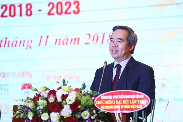 越南民营企业家协会——企业家的共同家园 hinh anh 1