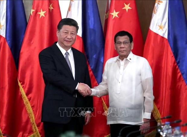 中国和菲律宾建立全面战略伙伴关系 hinh anh 1